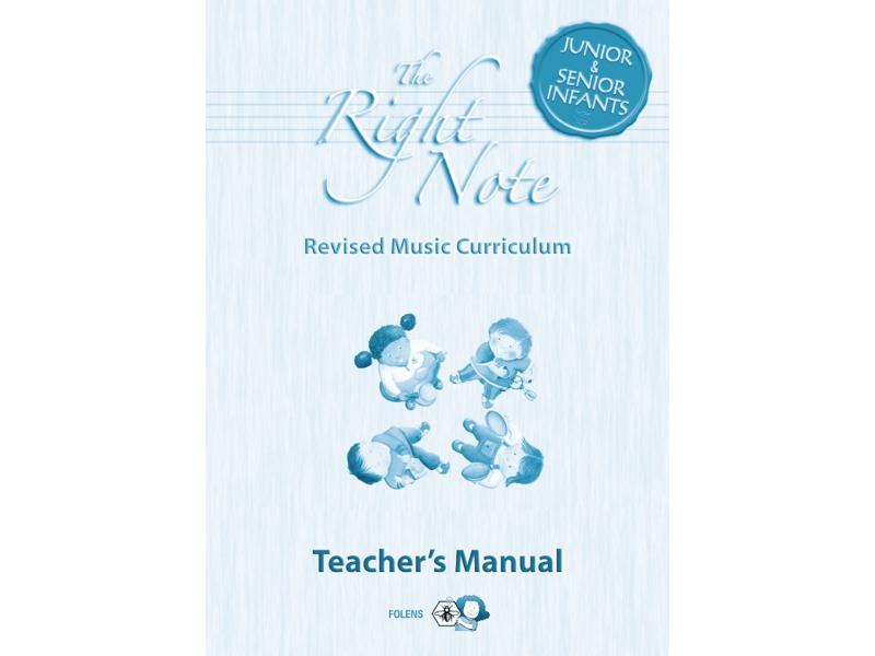 The Right Note Junior & Senior Infants Teachers Manual