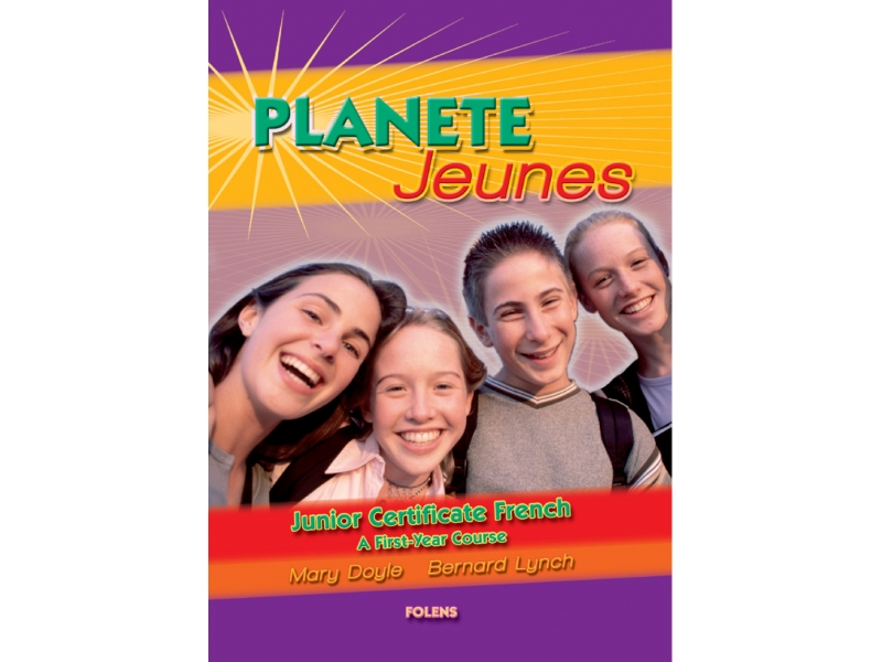 Planete Jeunes - Textbook - First Year French - Junior Certificate French