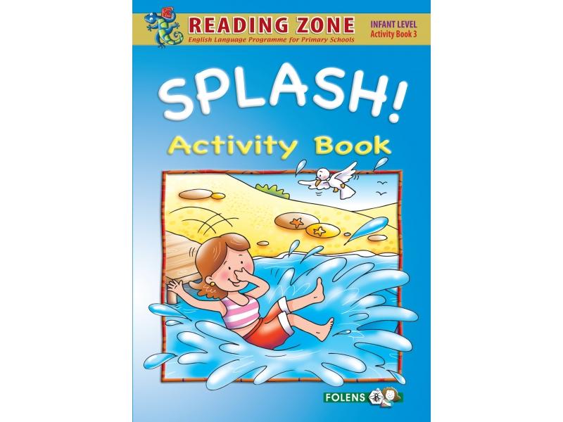 Splash! - Activity Book 3 - Reading Zone - Junior Infants