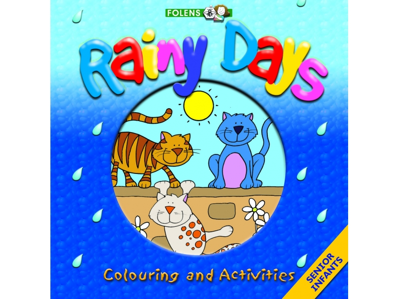 Rainy Day Colouring & Activity Book - Senior Infants
