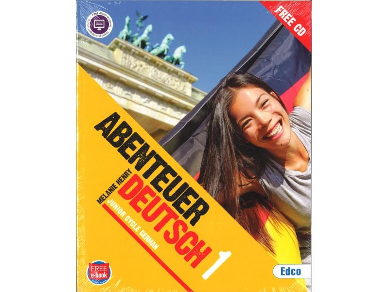 Abenteuer 1 Pack - Textbook & Workbook - Junior Cycle German - Includes Free eBook