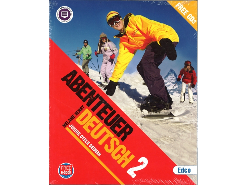 Abenteuer 2 Pack - Textbook & Workbook - Junior Cycle German - Includes Free eBook