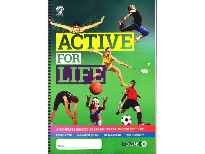 Active For Life - A Complete Record of Learning For Junior Cycle PE
