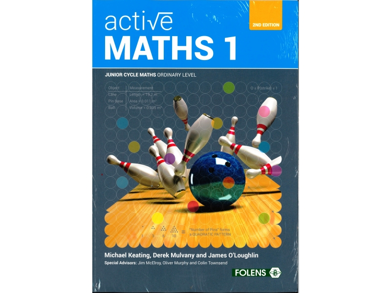 Active Maths 1 Pack 2nd Edition - Textbook & Student Learning Log - Includes Free eBook