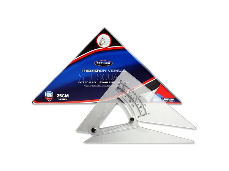Premier Adjustable Set Square 10inch