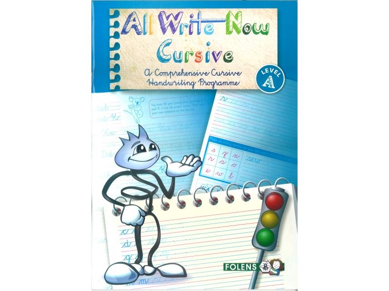 All Write Now A - A Comprehensive Cursive Handwriting Programme - Third Class