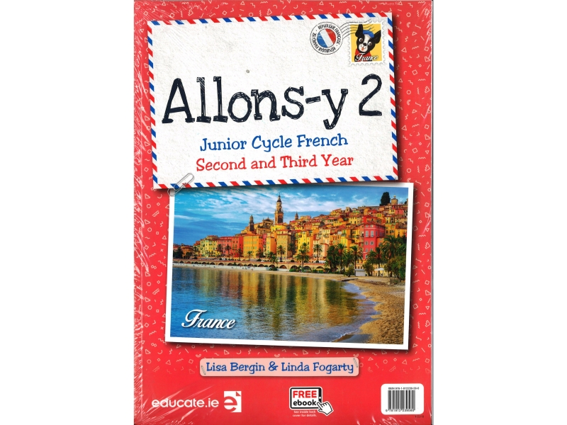 Allons Y2 - Junior Cycle French 2nd & 3rd Year Pack includes eBook