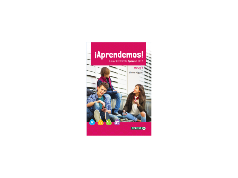Aprendemos 1 Pack - Textbook & Student Portfolio Book - Junior Cycle Spanish - Includes Free eBook