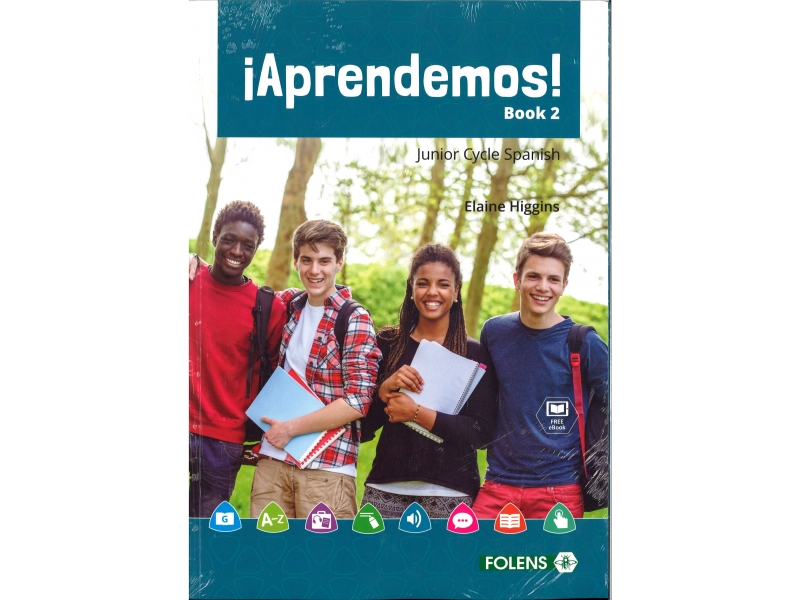 Aprendemos! 2 Pack - Textbook & Student Portfolio Book - Junior Cycle Spanish - Includes Free eBook