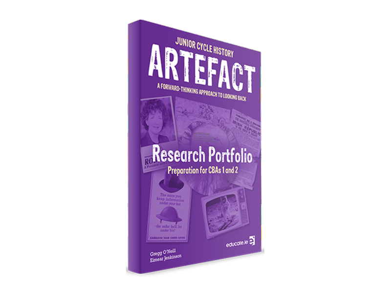 Artefact Research Portfolio Junior Cycle History