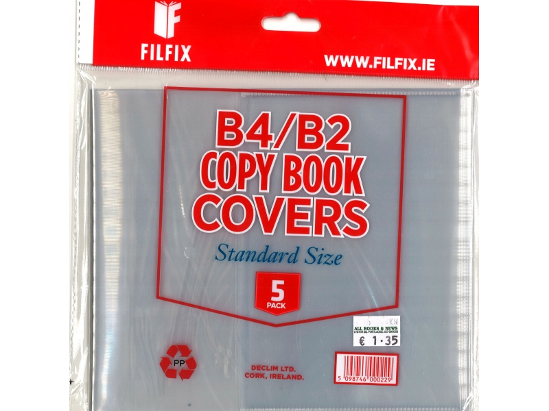 Filfix Copy Covers B4 & B2 - 5 Pack