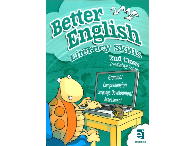 Better English 2 - Literacy Skills Activity Book - Second Class