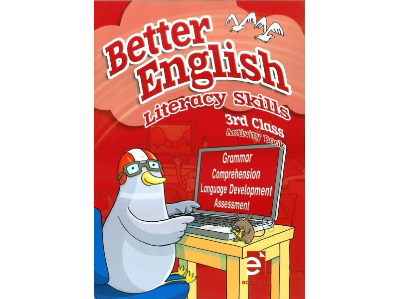 Better English 3 - Literacy Skills Activity Book - Third Class