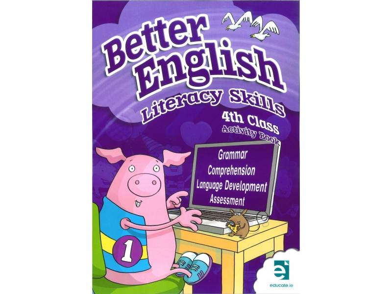 Better English 4 - Literacy Skills Activity Book - Fourth Class
