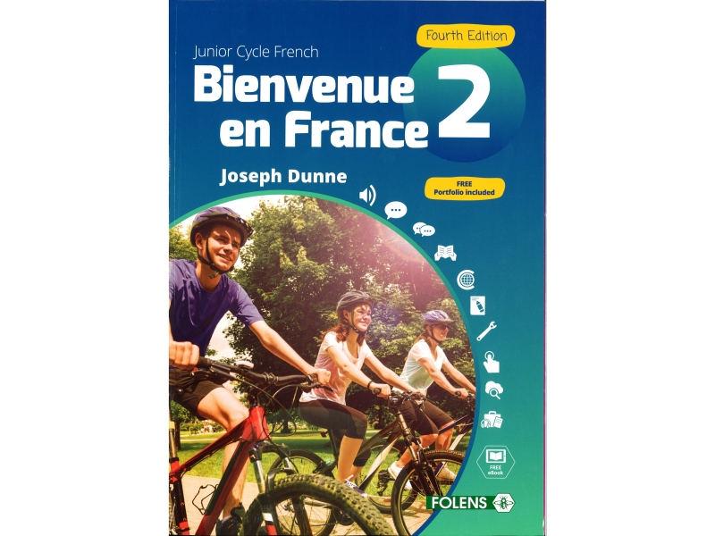 Bienvenue en France 2 Pack - Textbook & Student Portfolio Book - 4th Edition - Junior Cycle French - Includes Free eBook