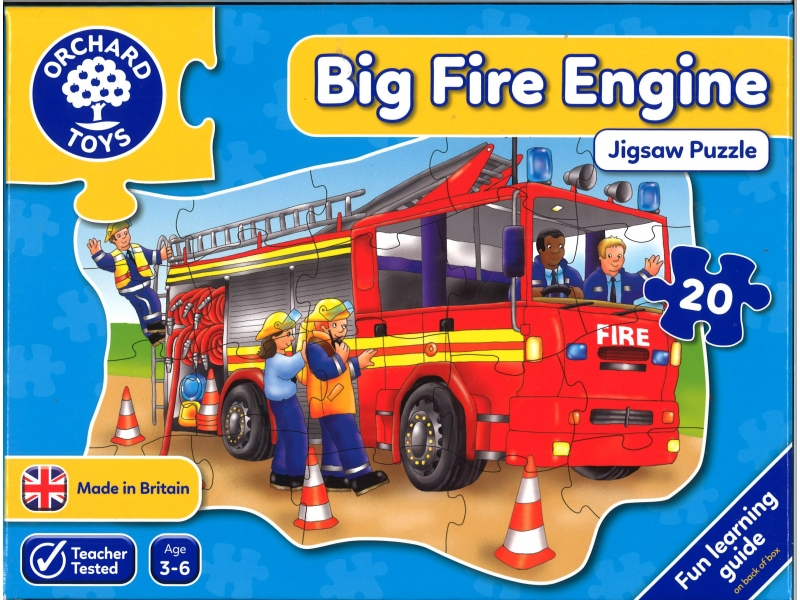 Big Fire Engine Jigsaw