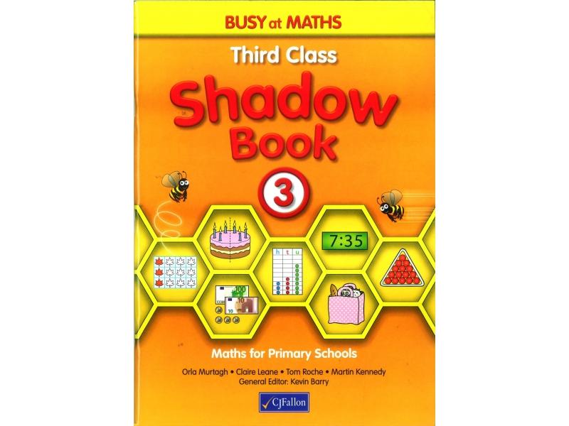 Busy At Maths 3 Shadow Book - Third Class