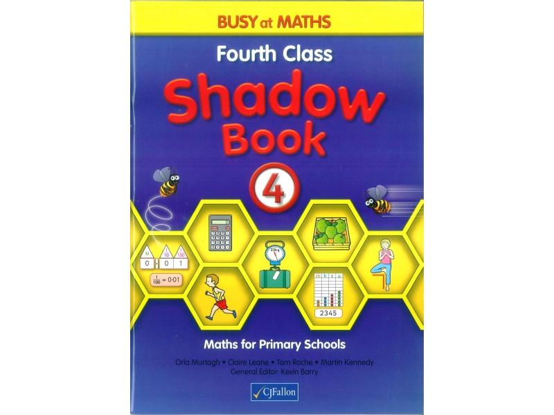 Busy At Maths 4 Shadow Book - Fourth Class