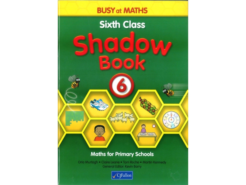 Busy At Maths 6 Shadow Book - Sixth Class