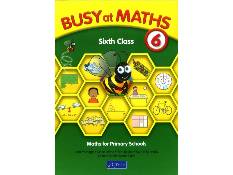 Busy At Maths 6th Class - Textbook