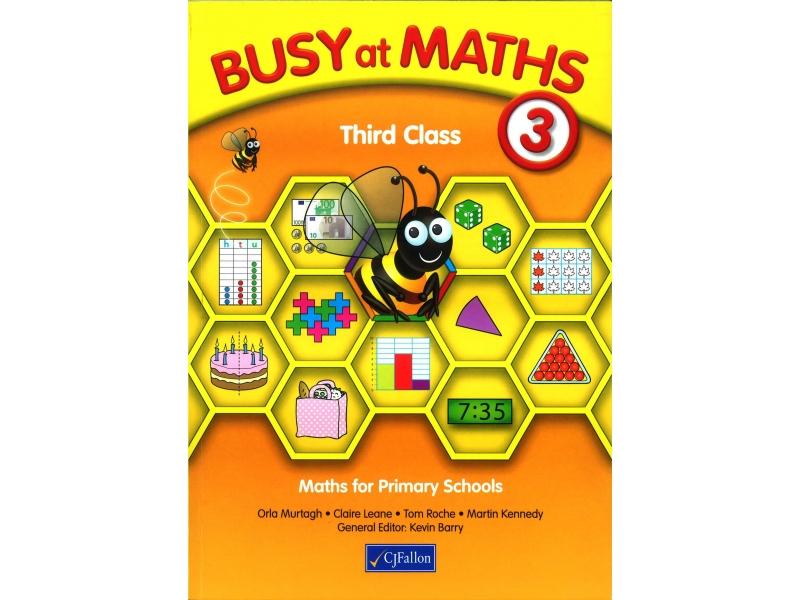 Busy At Maths 3rd Class - Textbook