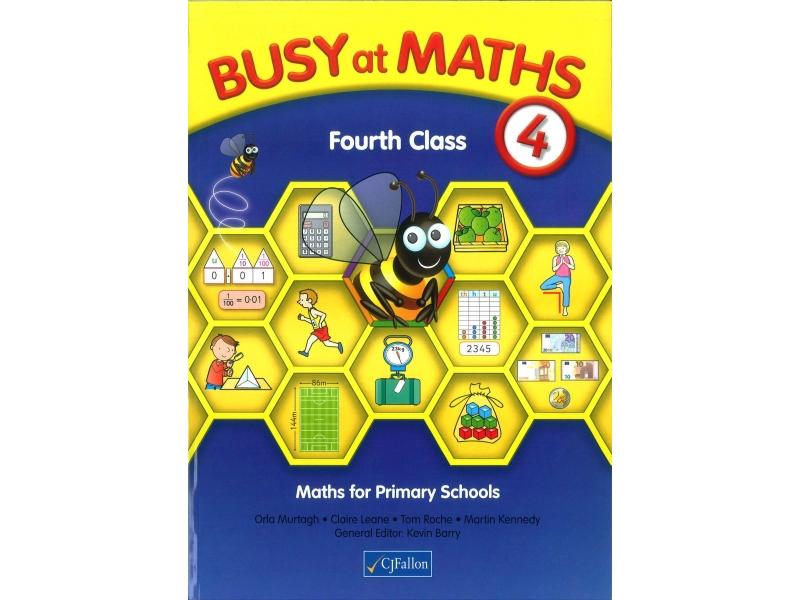 Busy At Maths 4th Class - Textbook