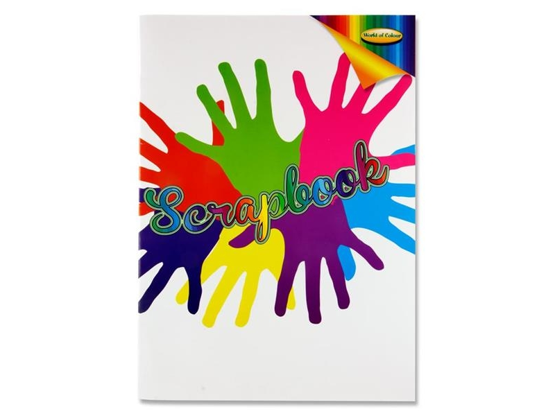 World Of Colour A3 Scrapbook 60 Pages
