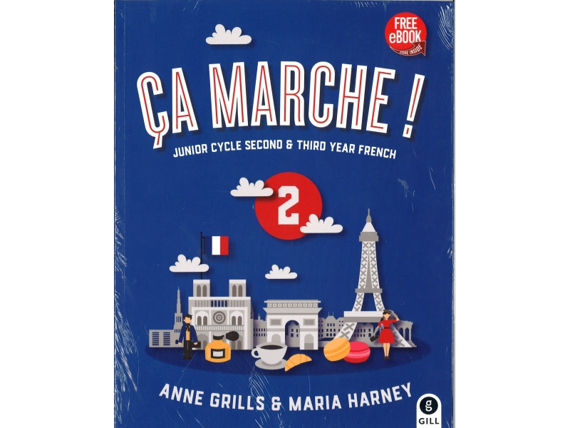 Ça Marche! 2 Pack - Textbook & Portfolio Book - Junior Cycle Second & Third Year French - Includes Free eBook