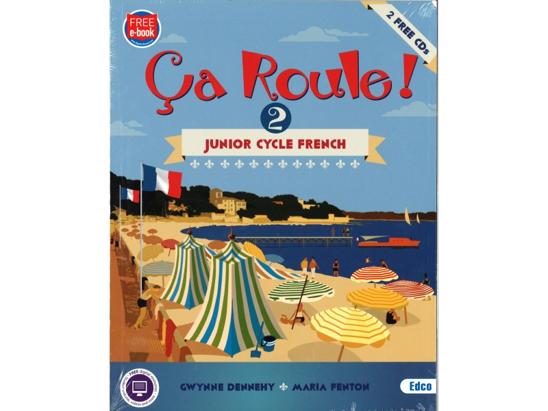 Ça Roule! 2 Pack - Textbook & Workbook - Junior Cycle French - Includes Free eBook