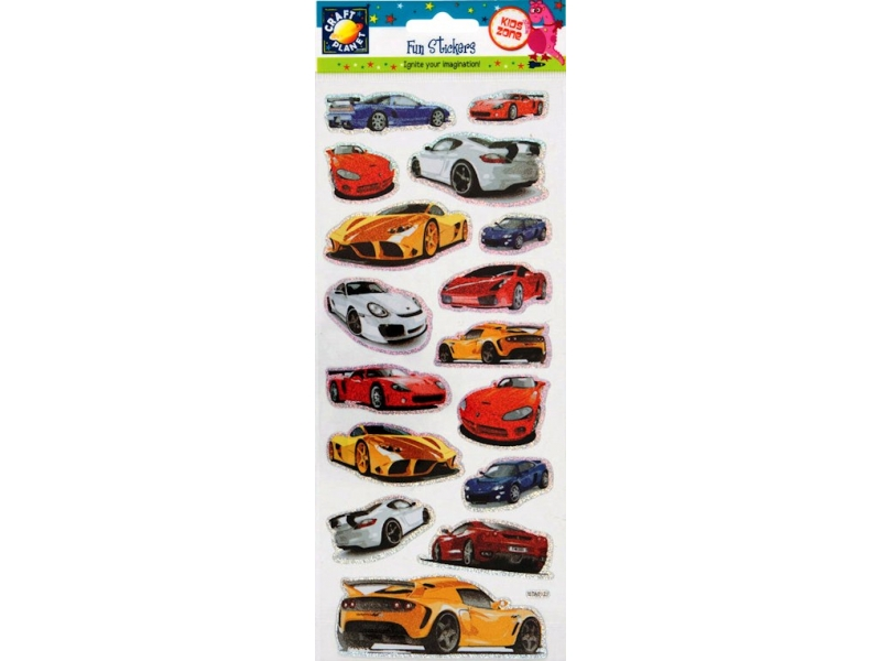 Craft Planet - Fun Stickers Cars
