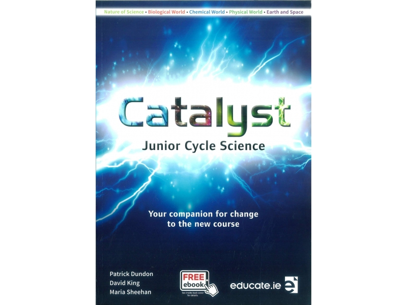 Catalyst Pack - Junior Cycle Science - Textbook, Portfolio Workbook & Key Words Booklet - Includes Free eBook