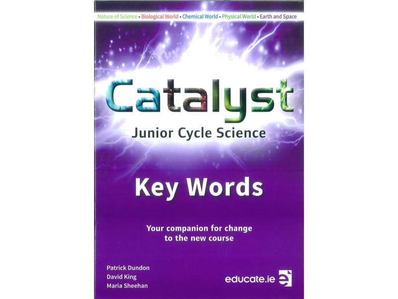 Catalyst Junior Cycle Science Key Words Booklet