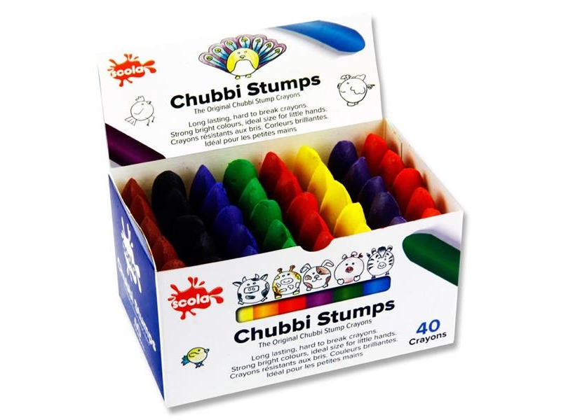 Scola Chubbi Stumps 40 Pack