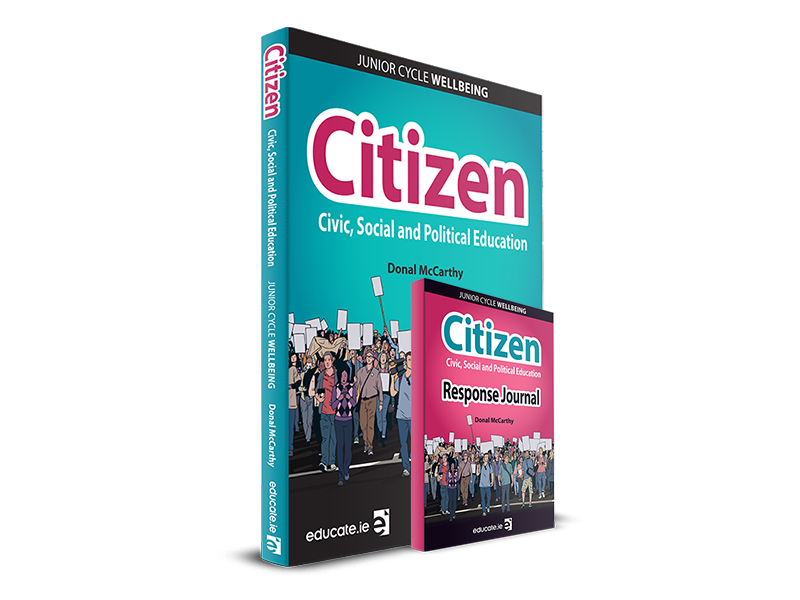 Citizen Pack - Textbook & Response Journal Book - CSPE