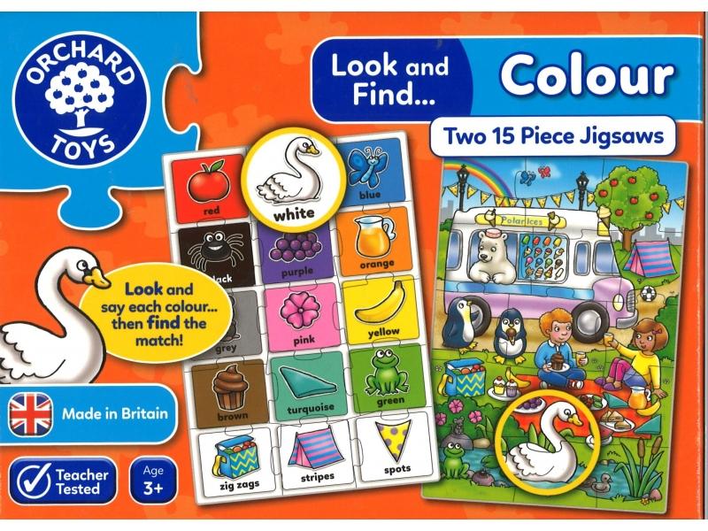Colour Two Jigsaws