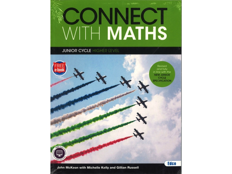 Connect With Maths Pack - Junior Cycle Maths Higher Level - Textbook & Workbook - Includes Free eBook
