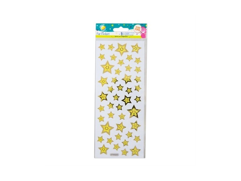 Craft Planet - Fun Stickers Smiley Face Stars