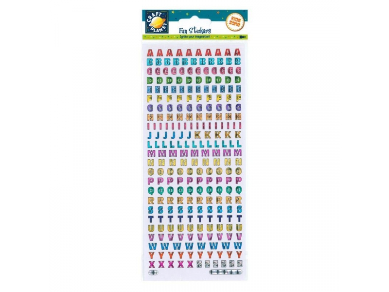 Craft Planet - Fun Stickers Reflective