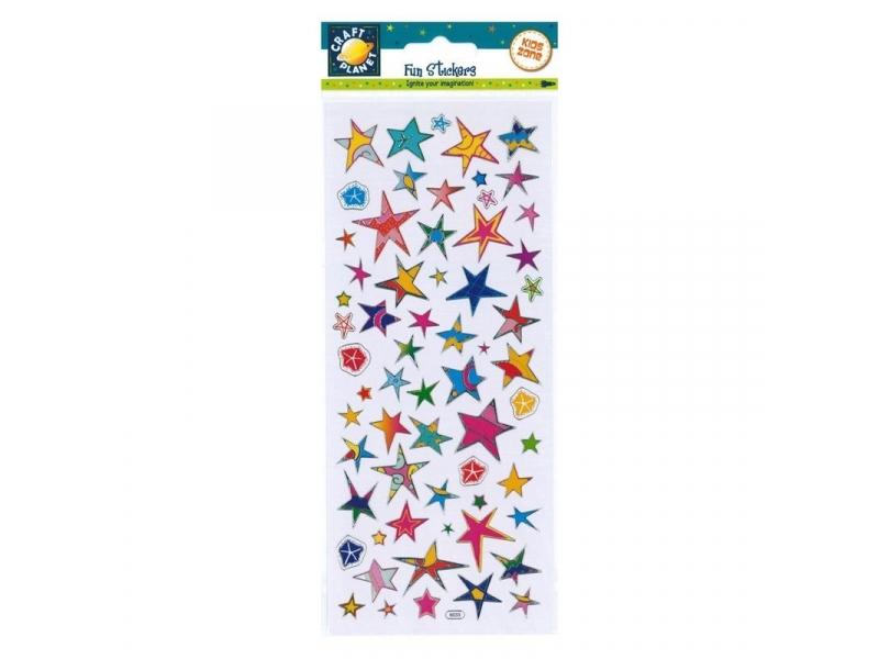 Craft Planet - Fun Stickers Funky Stars
