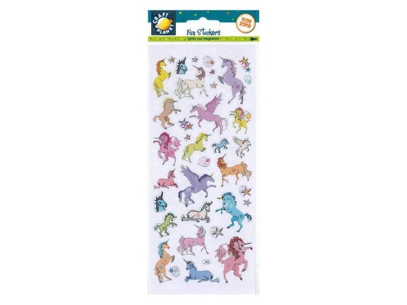 Craft Planet - Fun Stickers Unicorn