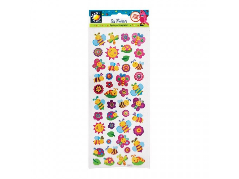 Craft Planet - Fun Stickers Small Bugs