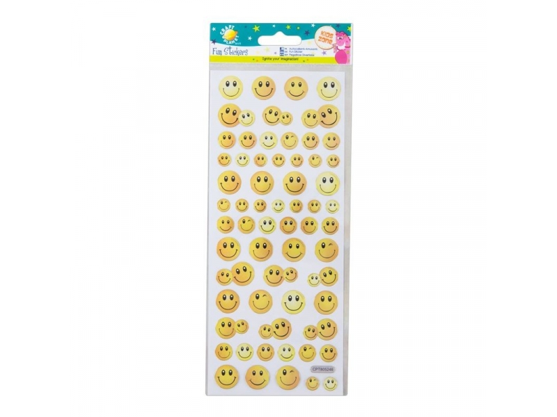 Craft Planet - Fun Stickers Smiley Faces