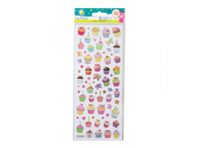 Craft Planet - Fun Stickers Cupcakes