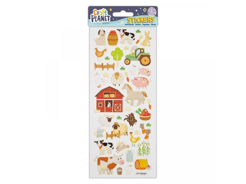 Craft Planet - Fun Stickers On The Farm