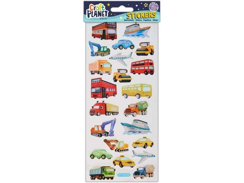 Craft Planet - Fun Stickers Transport