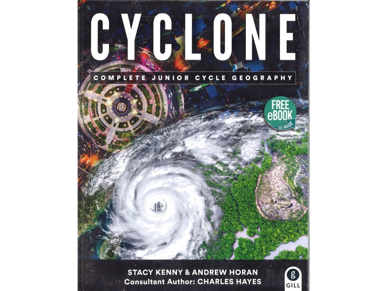 Cyclone Pack - Textbook & Skills Book - Junior Cycle Geography - Includes Free eBook