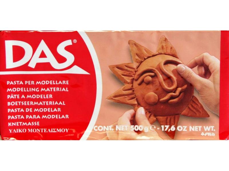 Das Modelling Clay Terracotta 500g