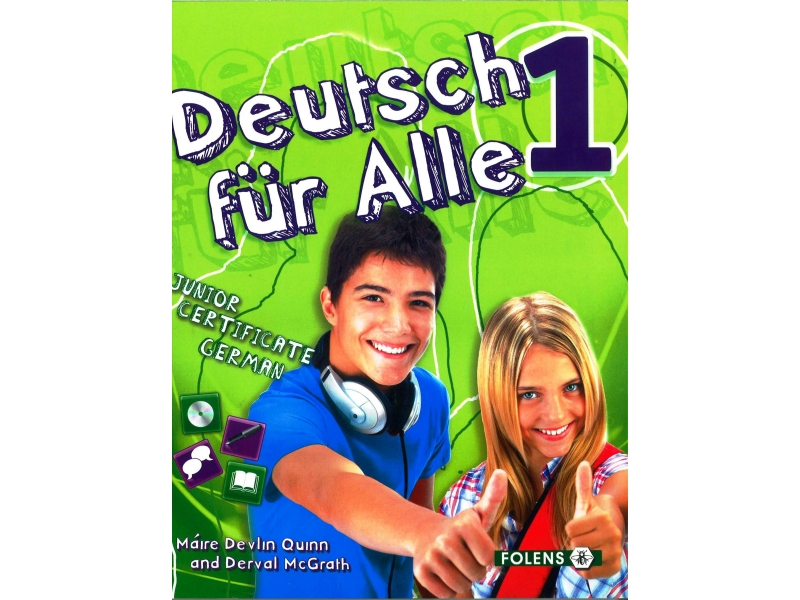Deutsch Für Alle 1 - Textbook & Cd - Junior Certificate German