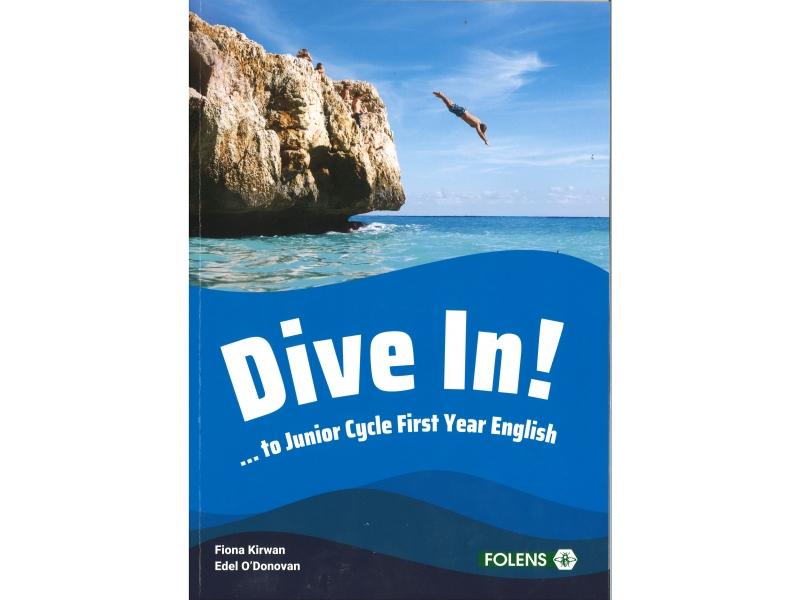 Dive In Pack Textbook & Workbook-Junior Cycle First Year English