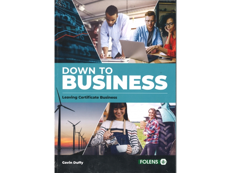 Down to Business Pack Leaving Certificate Textbook & Activity book